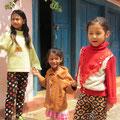 Unsere Ankunft in Bandipur wird bemerkt