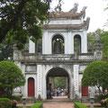 Eingangstor zum Literatur-Tempel