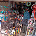handgeschmiedete Messer, Scheren und Werkzeuge