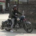 tolles Motorrad, vermutlich unverwüstlich