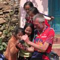 Peter zeigt seine Fotos