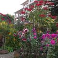 Innenhof vom Hotel