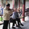 musizierende Pensionäre