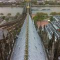 Blick Richtung Rhein im Hellen