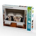 Puzzle Labrador Welpen