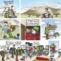 Tanzania. Comic. Transa-Zeitschrift: Raus aber Richtig (2010)