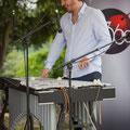 Alexis Valet, jeu de mains 4, Alexis Valet Sextet, Festival JAZZ360 2016, Quinsac, 12/06/2016