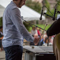 Alexis Valet, jeu de mains 1, Alexis Valet Sextet, Festival JAZZ360 2016, Quinsac, 12/06/2016