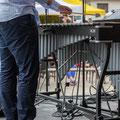 Alexis Valet, jeu de pied, Alexis Valet Sextet, Festival JAZZ360 2016, Quinsac, 12/06/2016