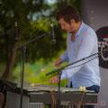 Le vibraphone d'Alexis Valet émet un son doux et moelleux !  Alexis Valet Sextet, Festival JAZZ360 2016, Quinsac