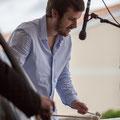 Alexis Valet, jeu de mains 3, Alexis Valet Sextet, Festival JAZZ360 2016, Quinsac