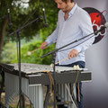 Alexis Valet, jeu de mains 4, Alexis Valet Sextet, Festival JAZZ360 2016, Quinsac