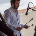 Alexis Valet, jeu de mains 3, Alexis Valet Sextet, Festival JAZZ360 2016, Quinsac, 12/06/2016