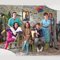 GLOOMY SABBATH | Jonathan Müller, Tina Landgraf, Gabi Gasser, Lennart Herrmann, Victoria Trauttmansdorff, Thorsten Merten | Foto: Jens Mackeldey
