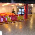 Raumgestaltung anlässlich des Advents im Kronwerk