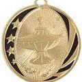 "2"" Midnite Star Medallion"