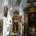Insgesamt befinden sich sieben Barockaltäre in der Klosterkirche