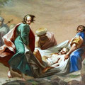Fresko Grablegung Christi