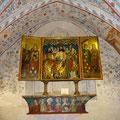Apostelaltar in der Rosenkapelle