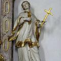 Assistenzfigur Hl. Aloisius mit dem Kreuz