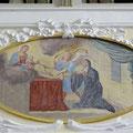"""Gemälde """"Vision der Hl. Angela Merici - es erscheint ihr Maria mit dem Jesuskind"""""""