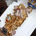 Kanzelfuss - Allegorie der Kirche