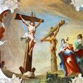 Fresko Kreuzigung Jesu
