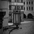 Blick von der Rathaustreppe