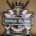 "Stumble Inn ""Kings Bling"" Pool Champ shield"