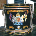 57th regiment drum for Tawhiti Museum