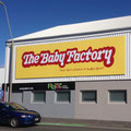 10.5 x 3 meter sign, The Baby Factory