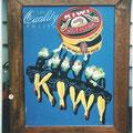 Kiwi Boot Polish Sign