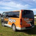 Sure Signs Van, 3M wrap