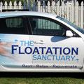 The Floatation Sanctuary vehicle