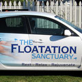 The Floatation Sanctuary vehicle