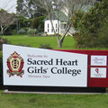 Sacred Heart Girls' College, entrance sign