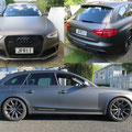 Full body wrap of Audi RS4