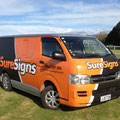 Sure Signs Van, 3M wrap