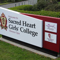 Sacred Heart Girls' College front sign