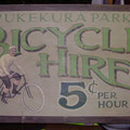Retro faux antique sign,- Bicycle Hire