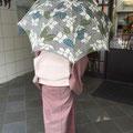 栗山紅型 日傘 お買い上げありがとうございます。