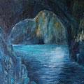 La Grotta Azzurra | Acryl auf Leinwand | 108 x 88 cm