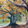 Vergänglichkeit | Acryl auf Leinwand | 50 x 40 cm