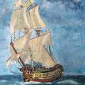 Ahoi | Acryl auf Leinwand | 40 x 50 cm