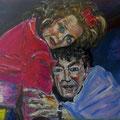 Theater | Acryl auf Pappe | 70 x 50 cm
