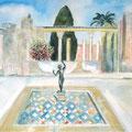Haus des Fauns | Acryl auf Leinwand | 100 x 80 cm