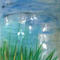 Morgenstimmung | Acryl auf Leinwand | 50 x 70 cm