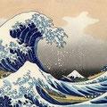 La Grande Vague, Hokusai Katsushika, 1831