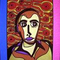 Inquiètude  -2007-  28x36cm