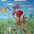 Le coupeur de fleurs  -2004-